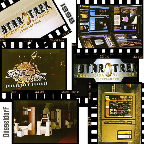 Star Trek World Tour 1998 Federation Science European Tour Duesseldorf