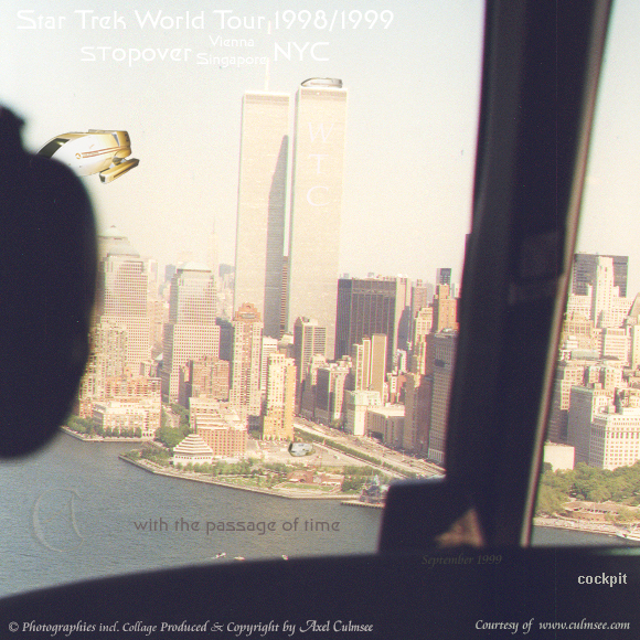 New York City 1999 September 12th helicopter flight with shuttles stopover slide 7-13A