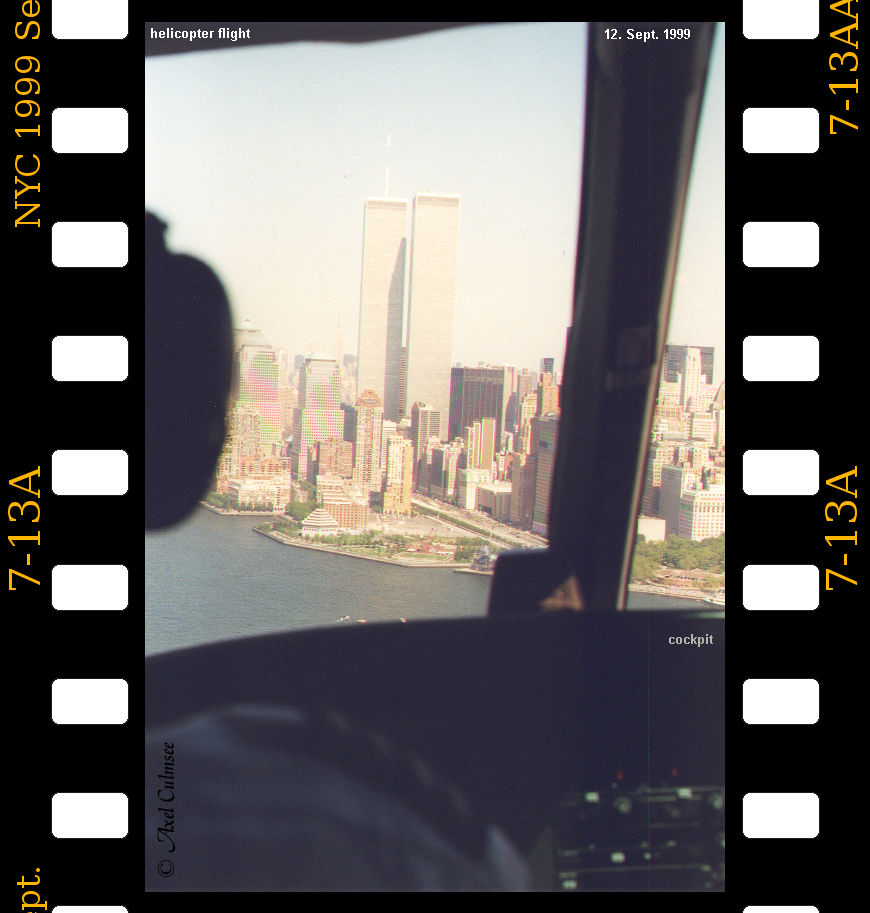 New York City 1999 September 12th helicopter flight slide 7-13A