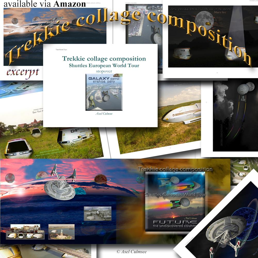 Vorschau einiger Seiten meines Buches: Trekkie collage composition Amazon kdp Edition