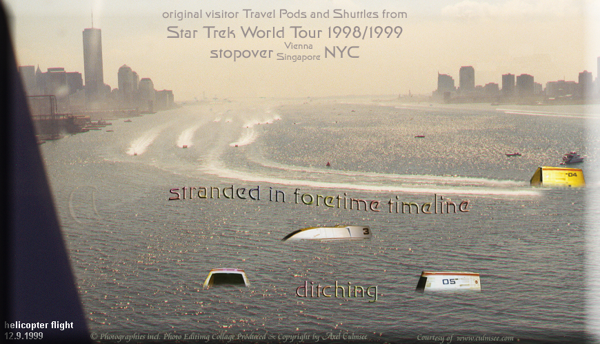 New York City 1999 September 12th helicopter flight Hudson 7-0A