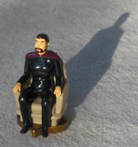 Schachfigur Riker