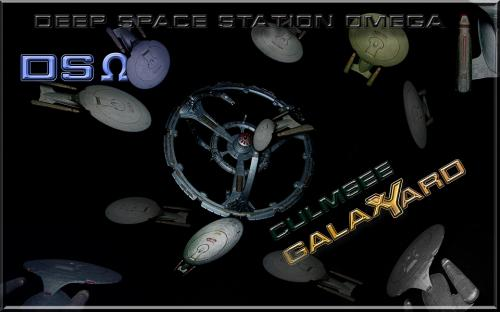 Star Trek desktop background DS Omega