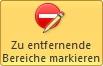 PowerPoint freistellte Arbeitsflaeche Entfernen-Button