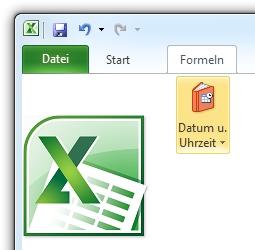 Excel-Symbol mit Formel-Button