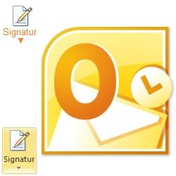 Outlook-Symbol-Signatur