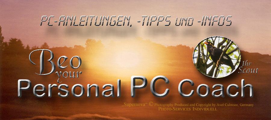 PC-Anleitungen, -Tipps und -Infos vom PPCC Beo
