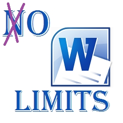 Word Oh Limits