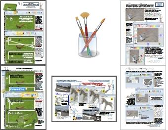 Bildbearbeitung Miniatur-Anleitungen