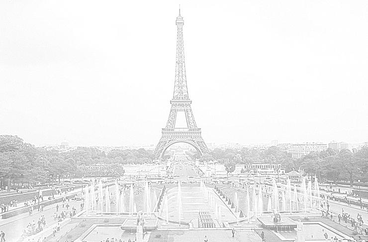 Eiffelturm Bleistift