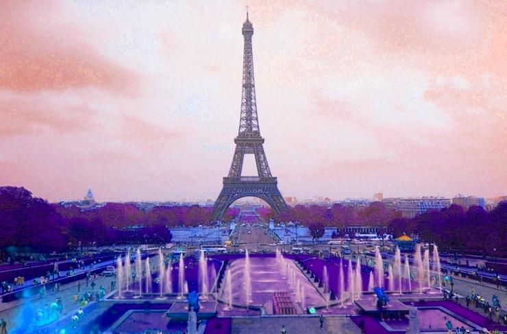Eiffelturm Farbton 2