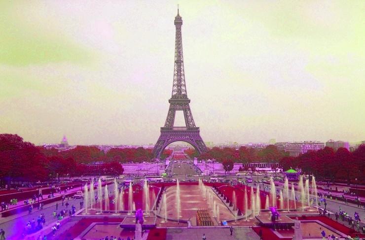 Eiffelturm Farbton 3