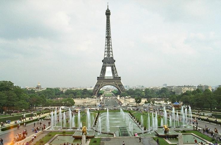 Eiffelturm Foto verschaerft