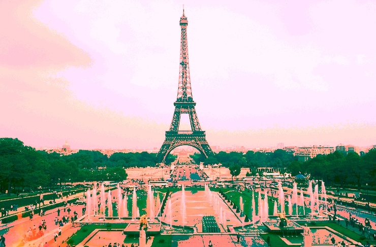Eiffelturm Tontrennung 2