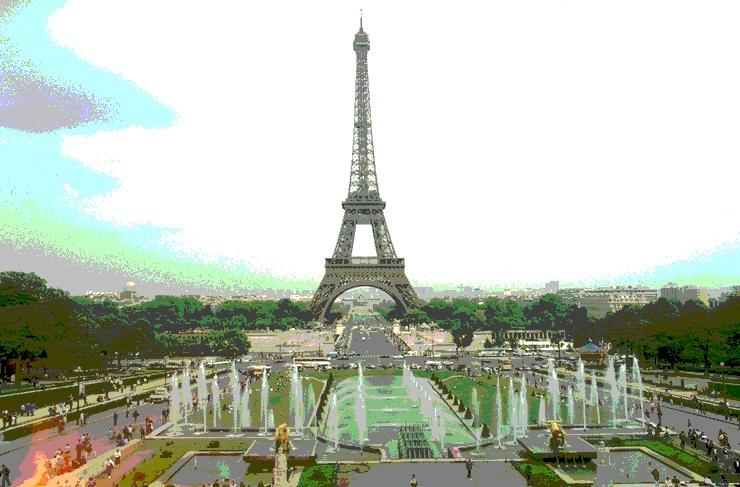 Eiffelturm Tontrennung 3