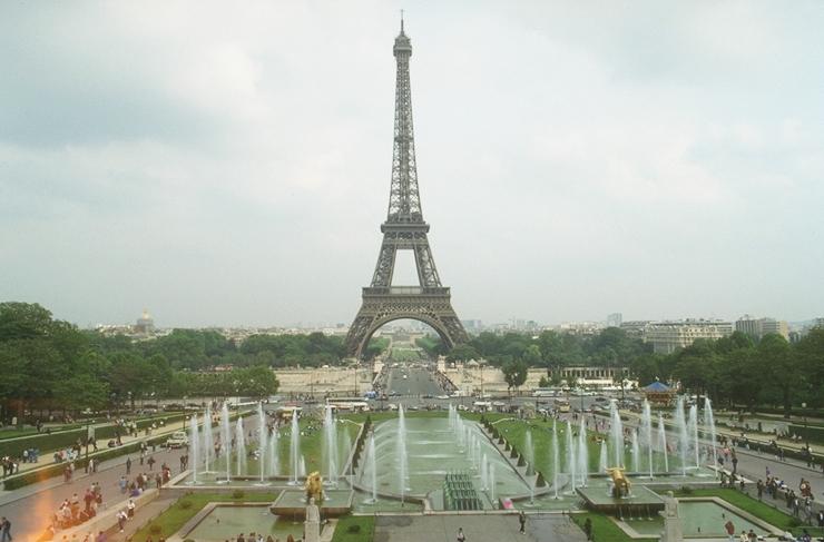 Eiffelurm im originalen Foto