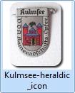 Kulmsee heraldic 1940ies pin