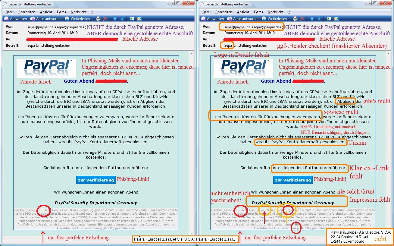 Phishing-Beispiel 7