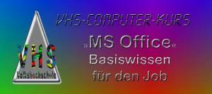 MS Office - Basiswissen für den Job