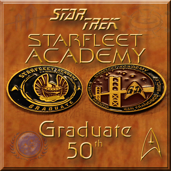 Star Trek Graduate 50th