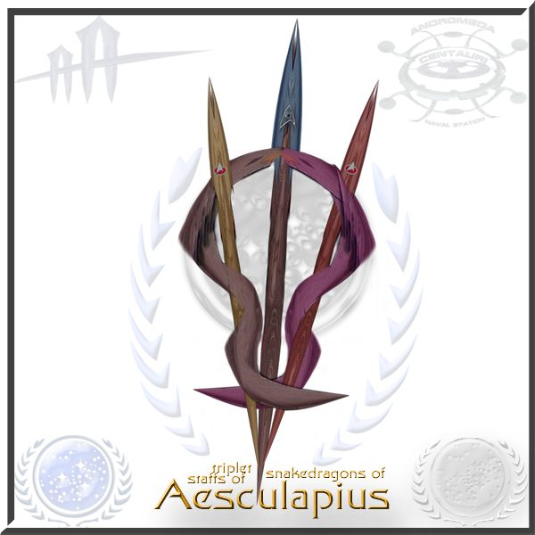 Aesculapius Logo Star Trek