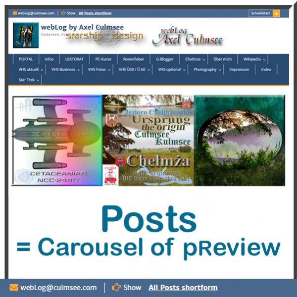 Posts Review Carousel