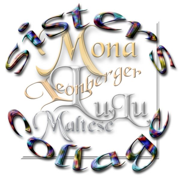 Mona LuLu sisters collage