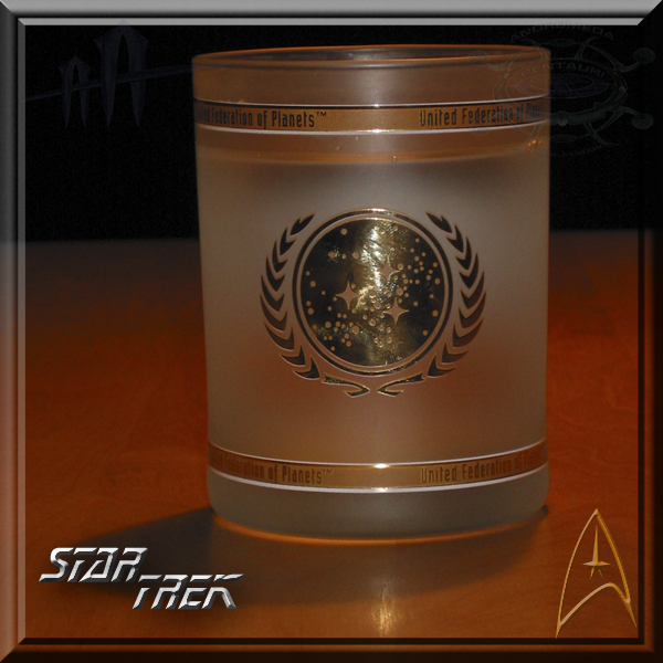 Star Trek water glass