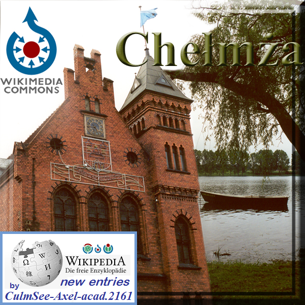 Chelmza at Wikipedia and Wikimedia