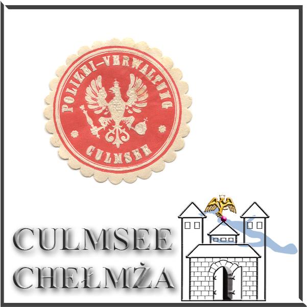 Culmsee Siegelmarke Polizei-Verwaltung