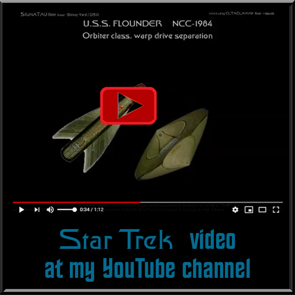 video starship Flounder separation