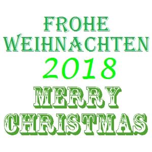 Frohe Weihnachten Merry Christmas