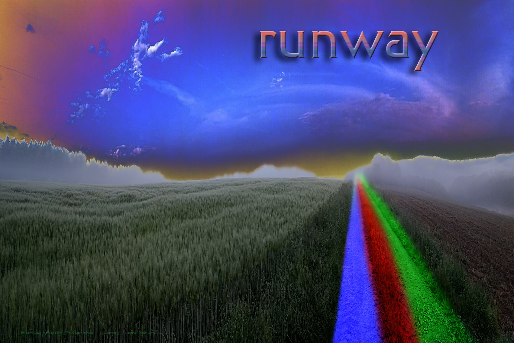 runway at Solaris fields New Risa