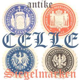 historische Siegelmarken Celle