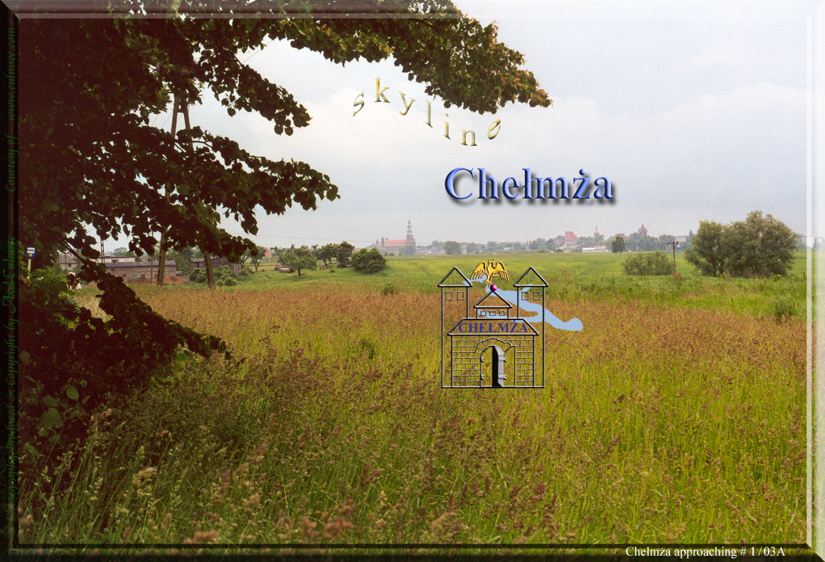 approaching Chelmza skyline June 2001