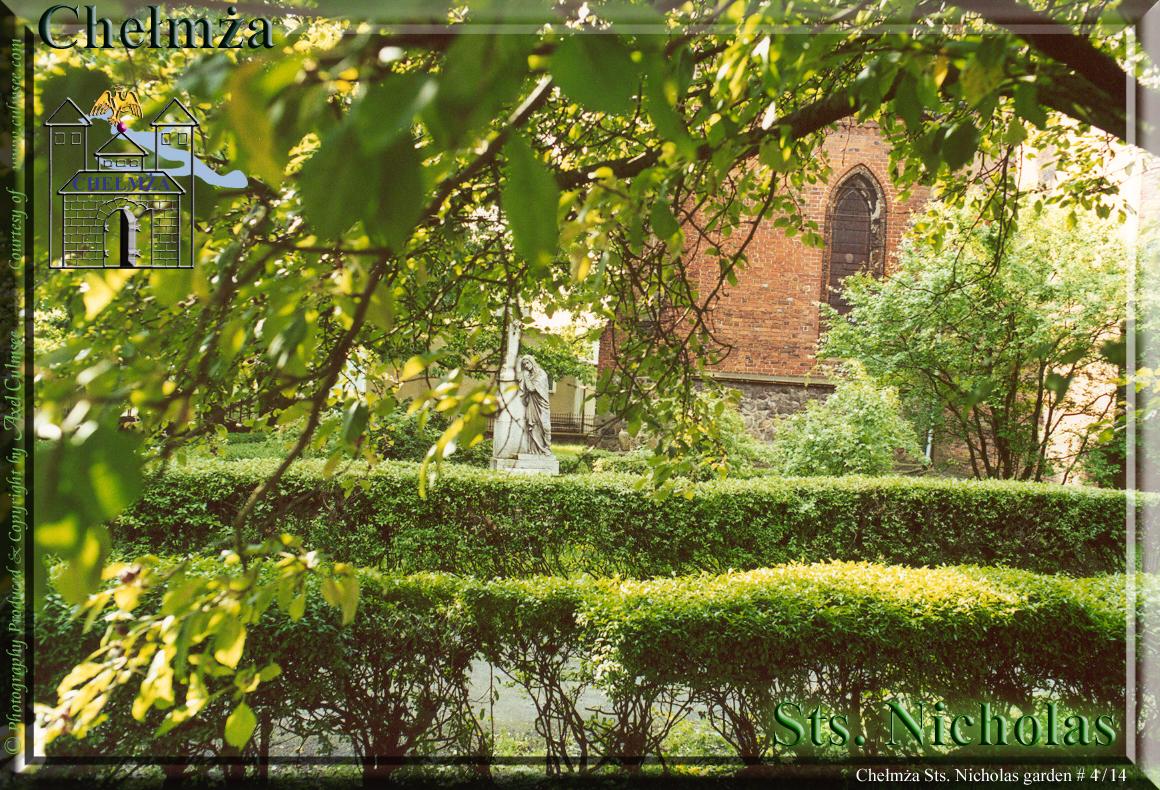 Chelmza Sts. Nicholas garden 2001