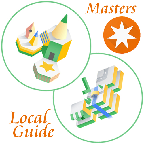 Local Guide Master-degrees Fact Finder and Reviewer