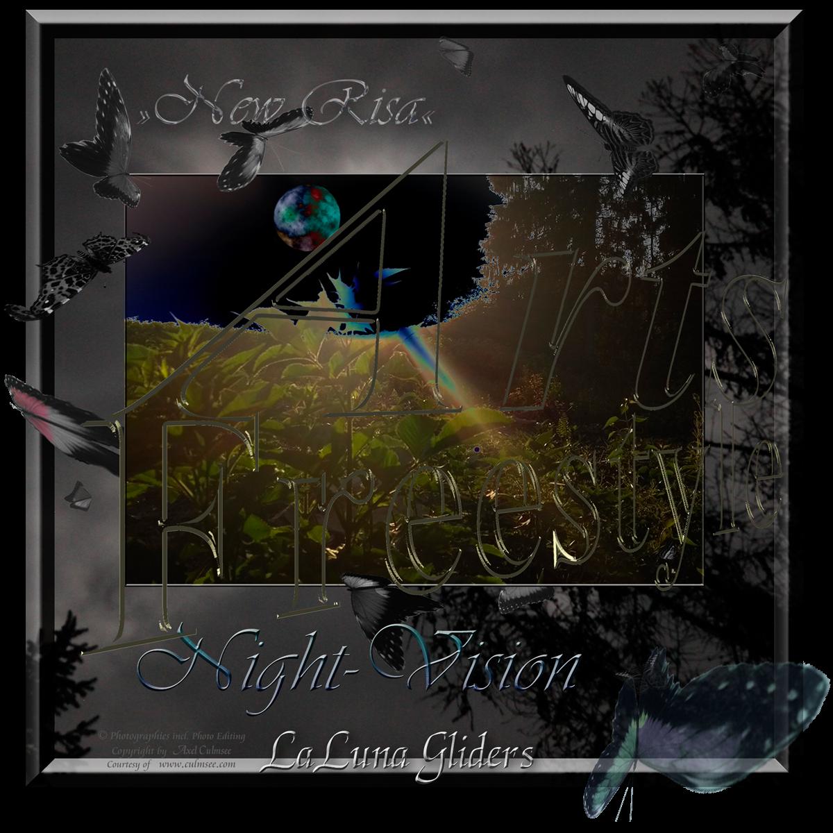 ArtsFreestyle Night-Vision LaLuna gliders New Risa