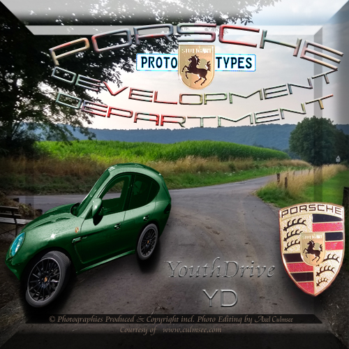 Porsche YouthDrive edition woodland