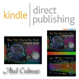 kindle direct publishing author Axel Culmsee SigmaTau Fleet - print edition and eBook