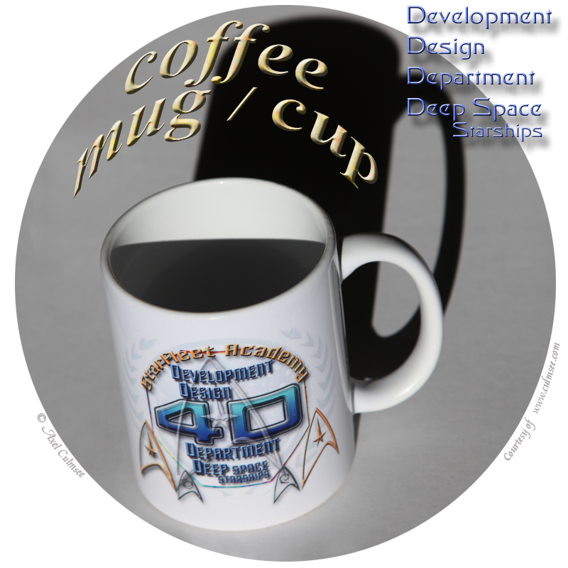 coffee mug cup Development Department Deep Space Starships
