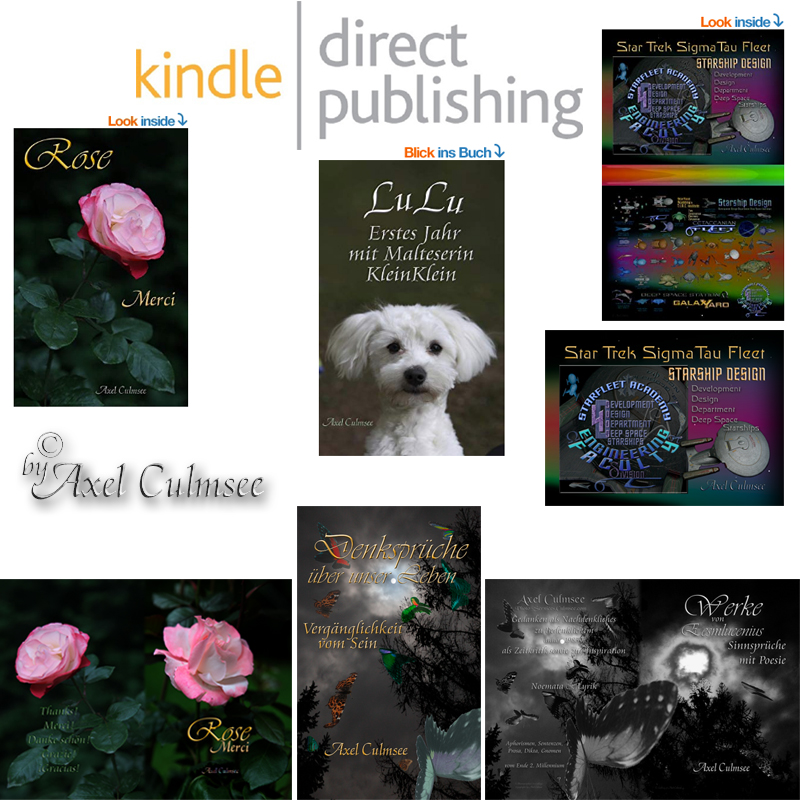 Amazon kdp eBooks Paperbooks von Axel Culmsee