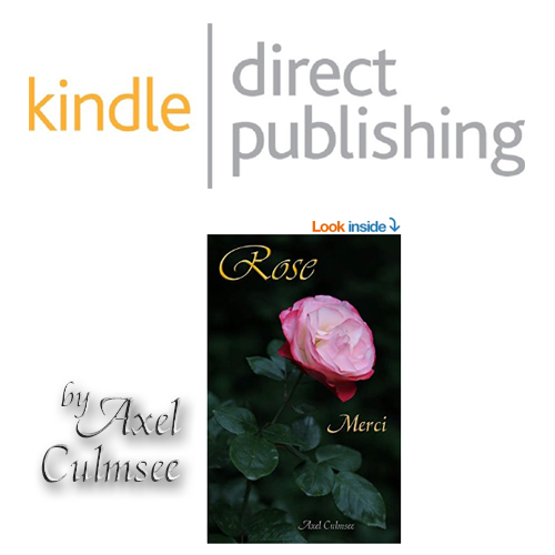 Amazon kdp eBook von Axel Culmsee Rose Merci