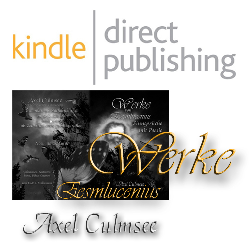 kindle direct publishing Autor Axel Culmsee