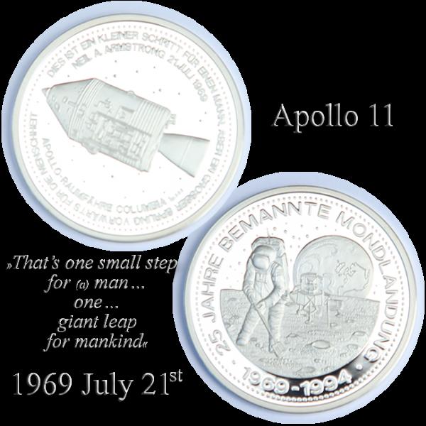 Mondlandung 25 Jahre 1994 oz 999