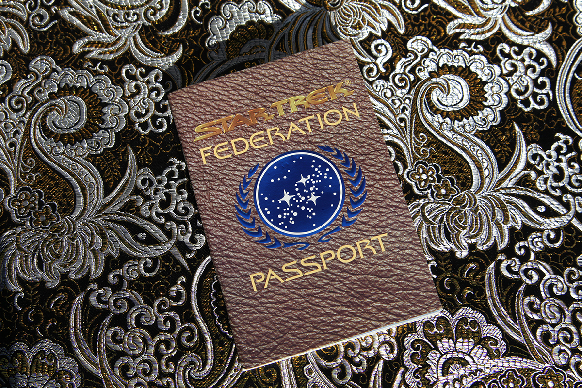 Star Trek Federation Passport - cover