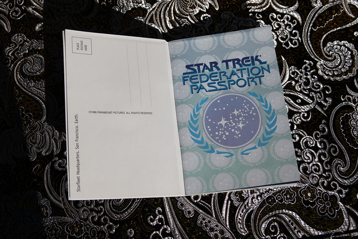 Star Trek Federation Passport - passport