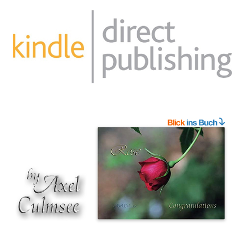 Amazon kdp eBook von Axel Culmsee Rose Congratulations