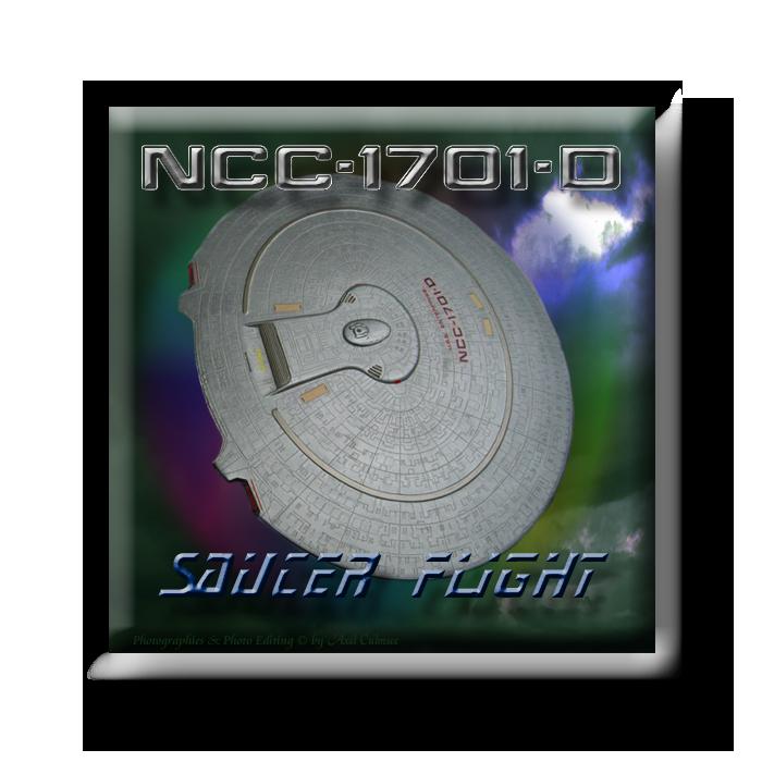 1701-D saucer flight