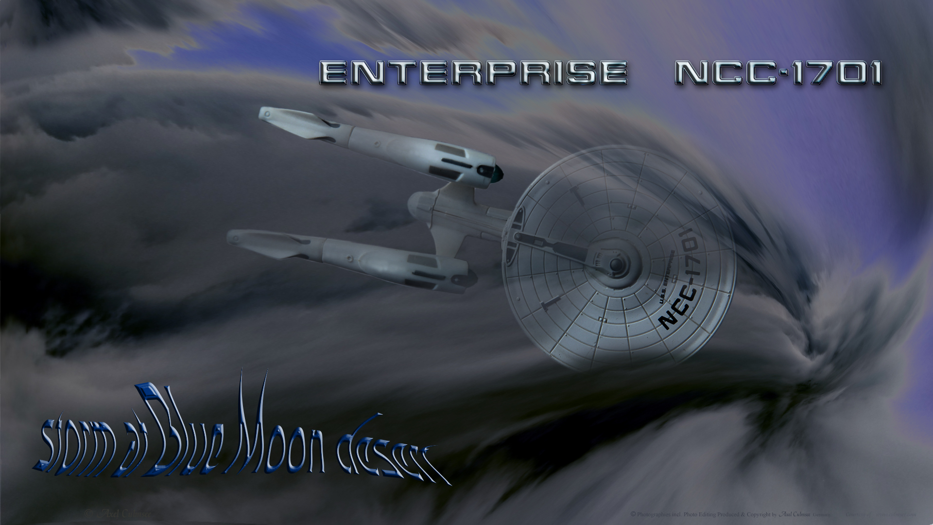 Enterprise storm over Blue Moon desert